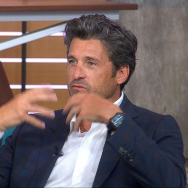 Gma Day Crowd Goes Wild For Patrick Dempsey In Times Square