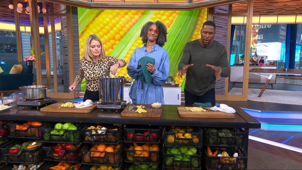 Soup's on! Carla Hall shares her corn chowder recipe