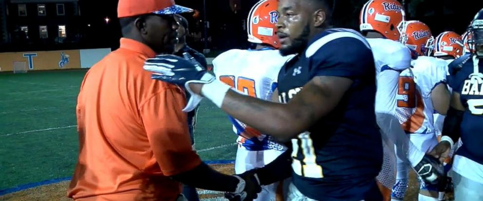VIDEO: Teen deemed ineligible for football due to homelessness back on the field