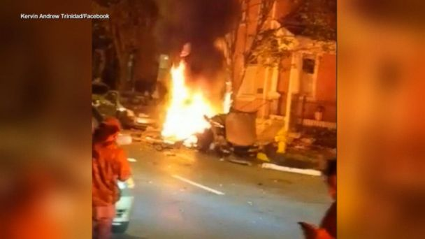 6e145632708 Mysterious car explosion in Allentown, Pennsylvania | GMA