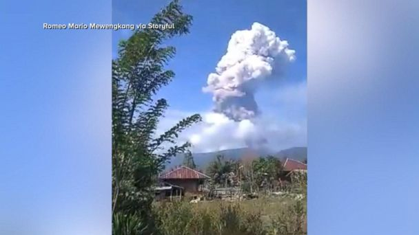 Volcano eruption adds to tsunami devastation