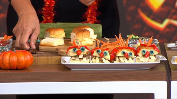 video actress tia carrerre shares hawaiian inspired dishes for your halloween party