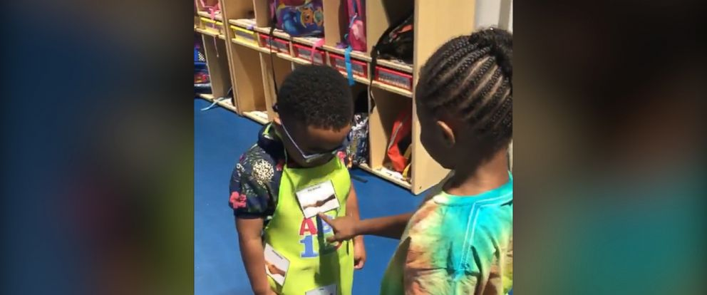 VIDEO: Preschool handshake ritual is everything right in the world