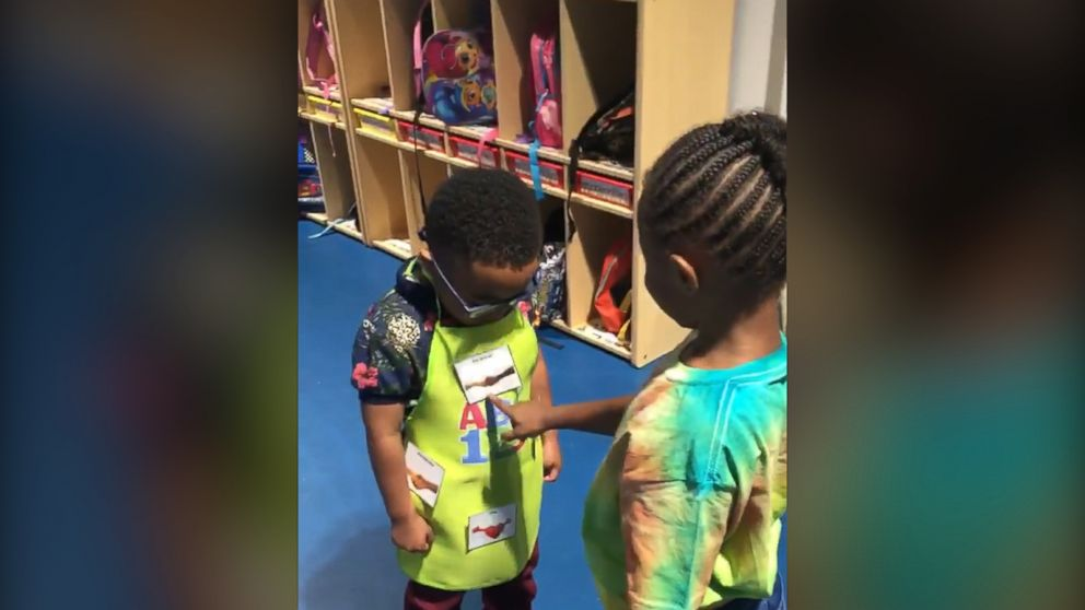 Preschool handshake ritual is everything right in the world