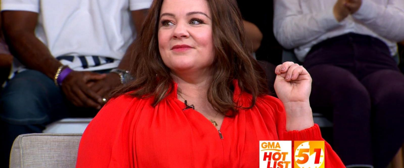 VIDEO: 'GMA' Hot List: Melissa McCarthy reflects on her high school hairstyle