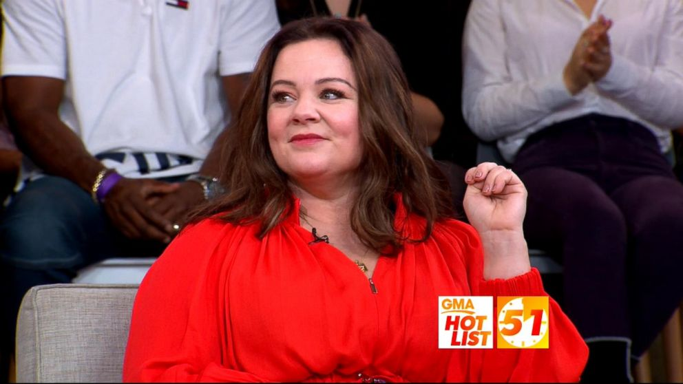 Gma Hot List Melissa Mccarthy Reflects On Her High School Hairstyle