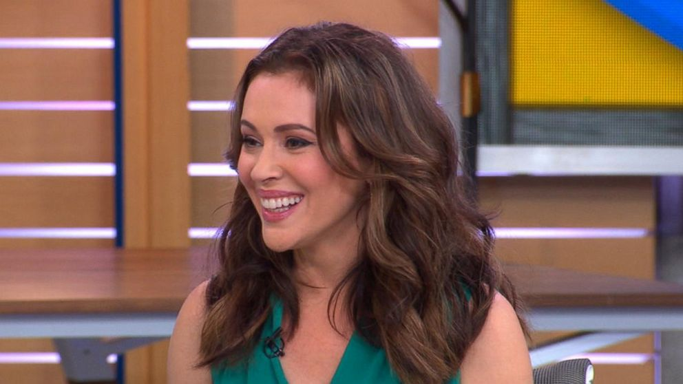 3b7f222f Alyssa Milano talks mom guilt with Michael Strahan and Sara Haines ...