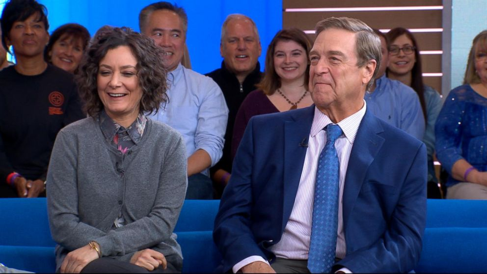 Sara Gilbert and John Goodman open up about 'The Conners' Video - ABC News