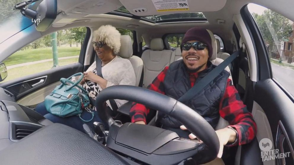 Chance the Rapper goes undercover as a Lyft driver Video - ABC News