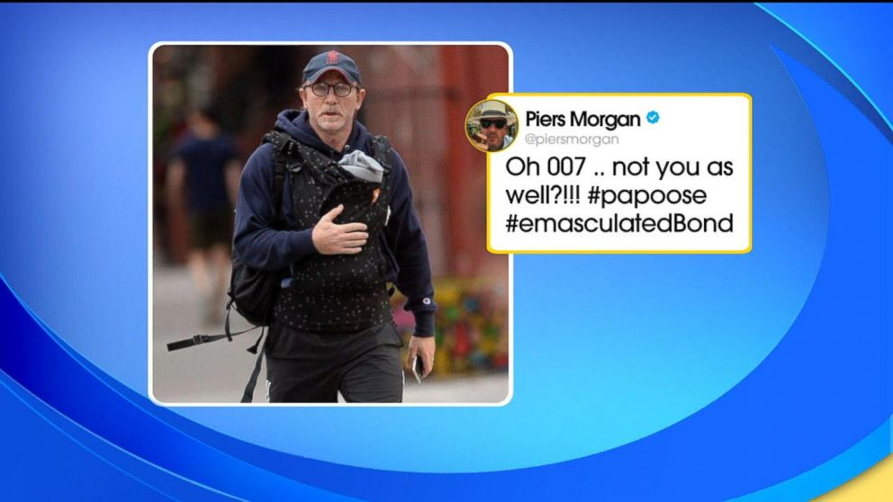 Piers Morgan dad-shames Daniel Craig and dads on Twitter are rallying around the 007 star