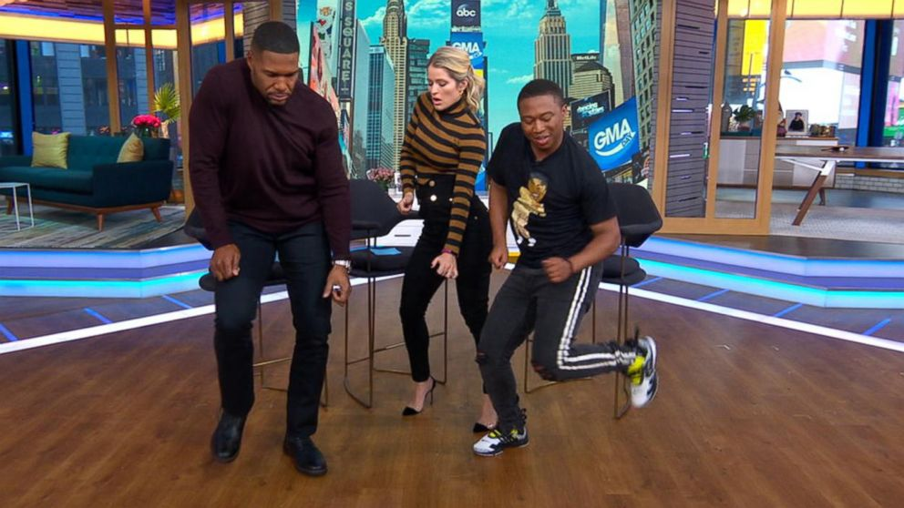 The man behind a hot dance craze, Shiggy, busts a move on 'GMA Day'!
