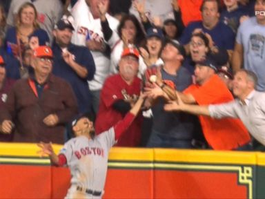 WATCH:  Fan interference gives Red Sox key win