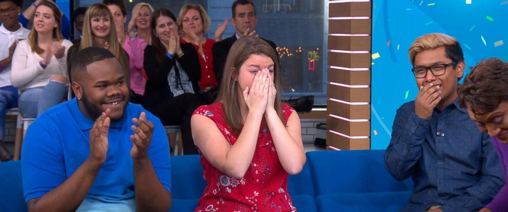 VIDEO: College Board surprises 3 students with $40,000 scholarships on GMA