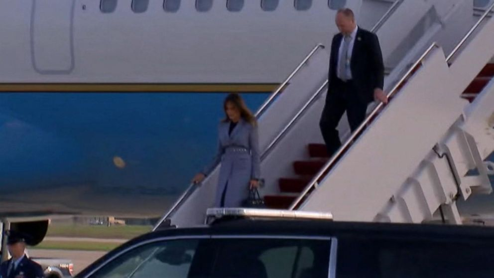 Cause of first lady's plane scare confirmed Video - ABC News