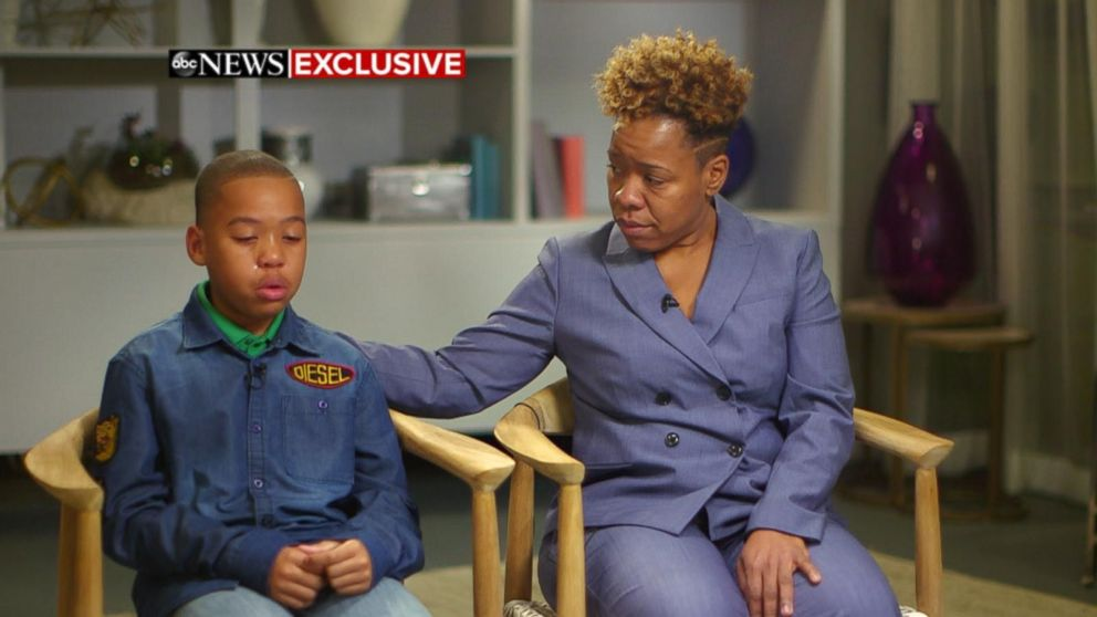 VIDEO: Mom, son accused of groping woman speak out