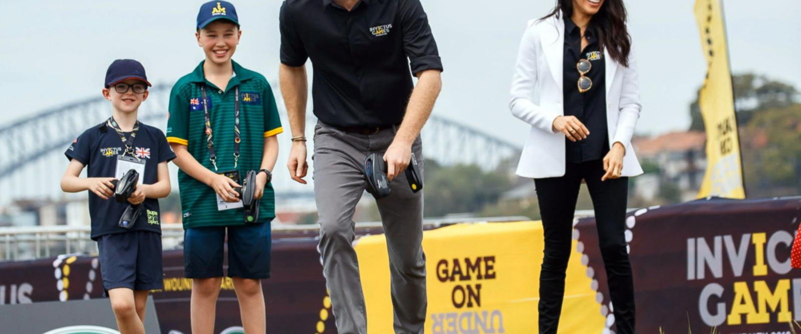 VIDEO: Meghan Markle and Prince Harry return to the Invictus Games