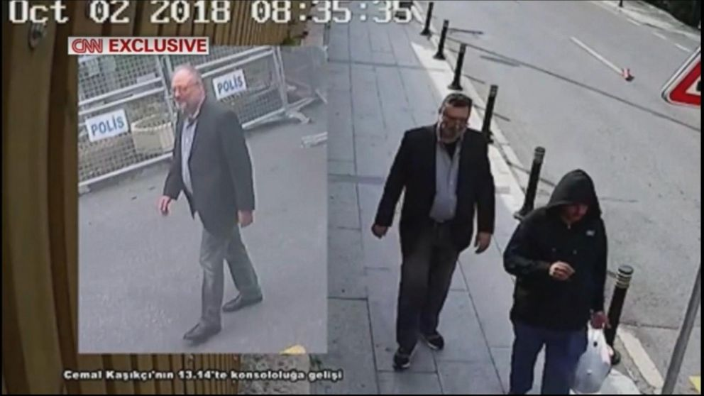Saudi Arabia's claim about assassinated journalist changes again
