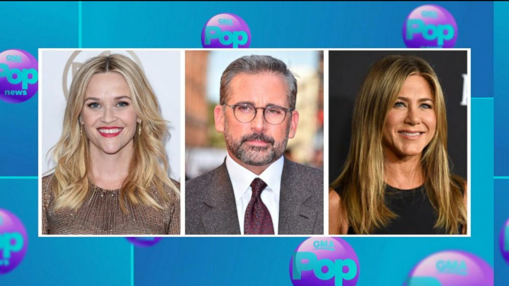 Steve Carell To Star With Reese Witherspoon Jennifer Aniston In New