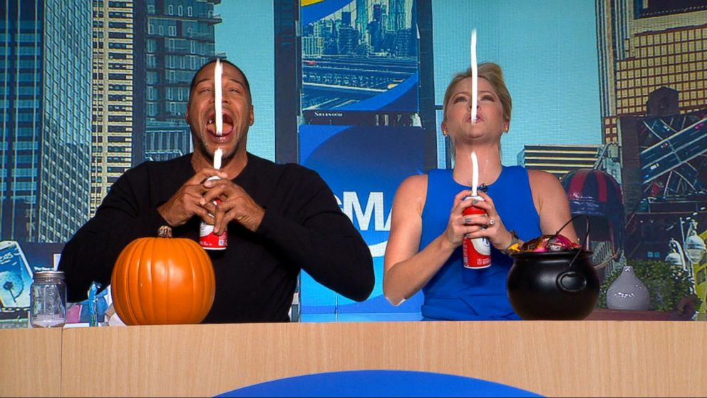 Gma Day Halloween 2020 GMA Day' is literally flipping our Times Square studio upside down