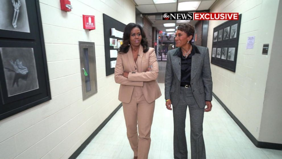 d26d68f4e4 5 takeaways from Michelle Obama s exclusive interview with Robin Roberts -  ABC News