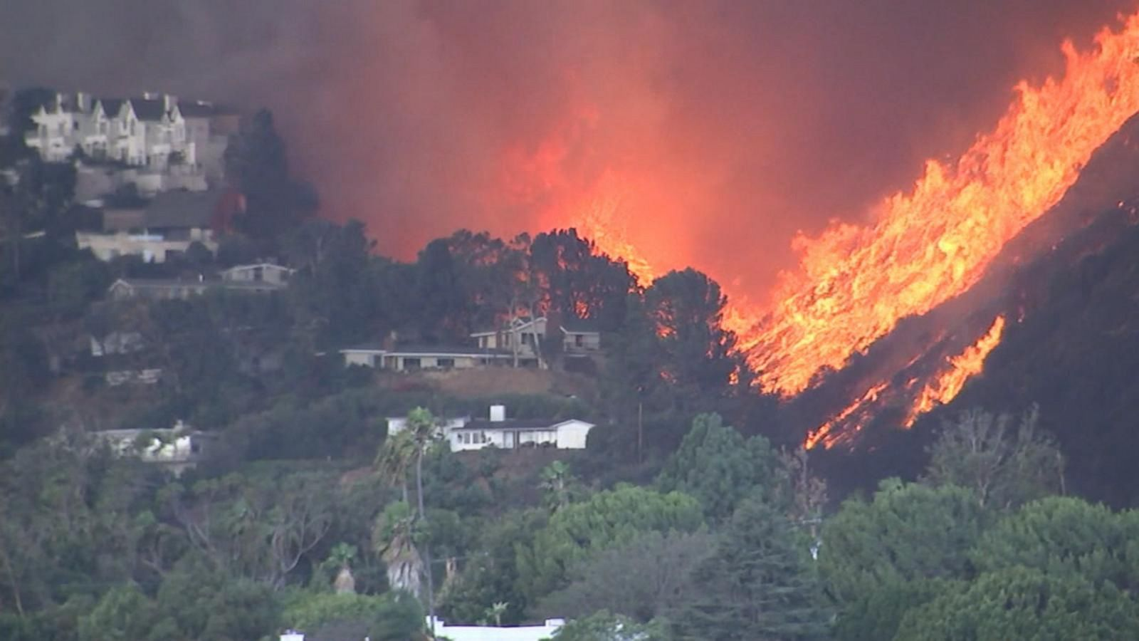 8,000-Acre California Wildfire Drives Mass Evacuation 8,000-Acre California Wildfire Drives Mass Evacuation new picture