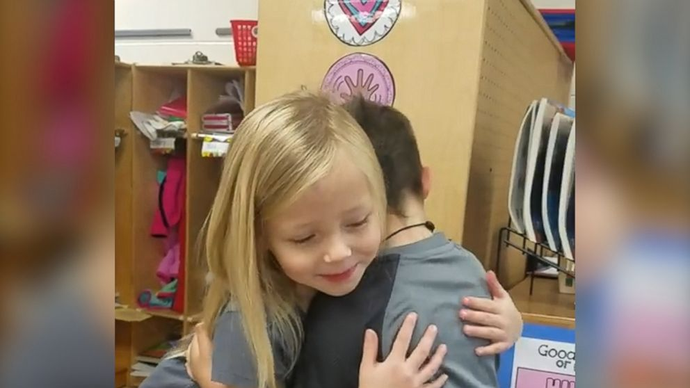 Let's all agree to be as kind as these kindergartners are each day