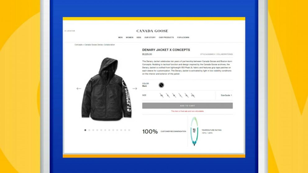 aa478b5e0 British school bans pricey Canada Goose coats in hopes of preventing ...