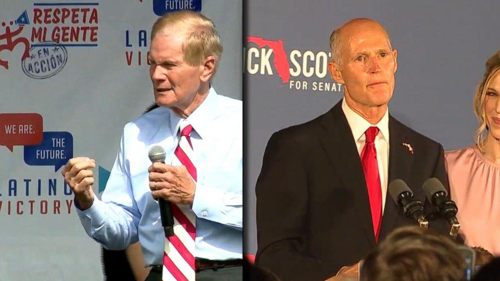 Rick Scott wins Florida Senate seat, Abrams concedes in Georgia