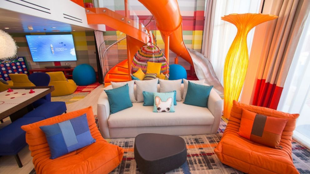 This cruise s family suite is a giant jungle gym video abc news