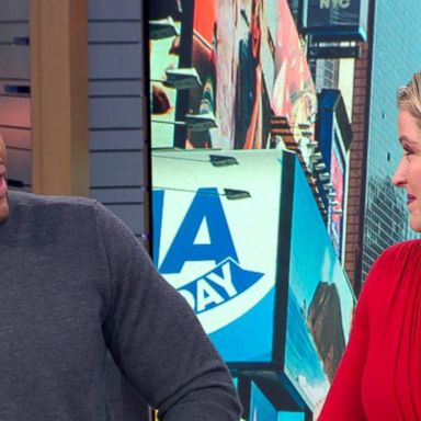 Sara Haines surprises Michael Strahan with an emotional birthday tribute