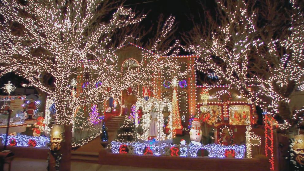 Could this be the craziest Christmas lights display in America?