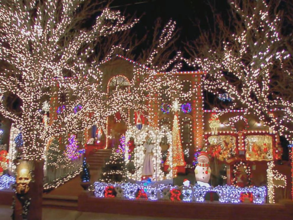 VIDEO: Could this be the craziest Christmas lights display in America?