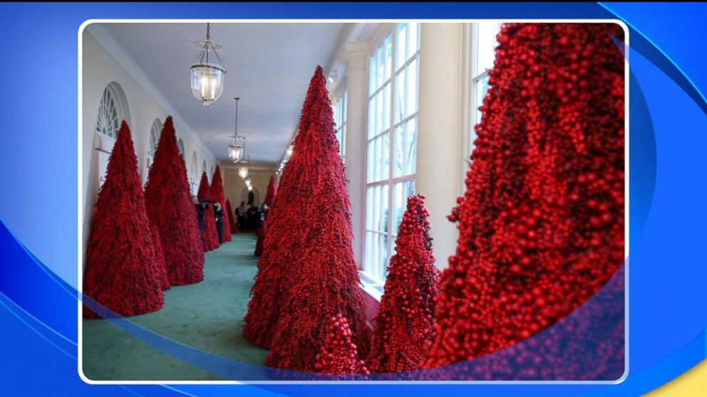 Melania Christmas Decorations.Did Melania Trump S White House Christmas Decorations Miss The Mark