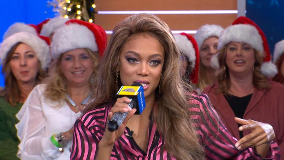 Gma Hot List Tyra Banks Breaks Out In A Rap Live On Gma Video Abc News