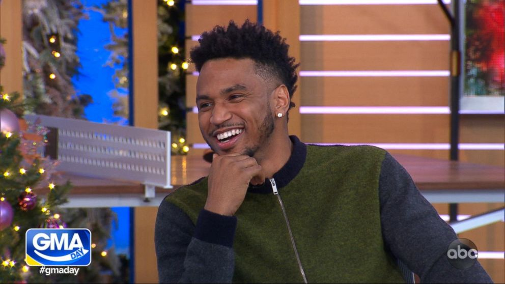 8668d2a86 Trey Songz tells 'GMA Day' the story behind his surprise mixtapes ...