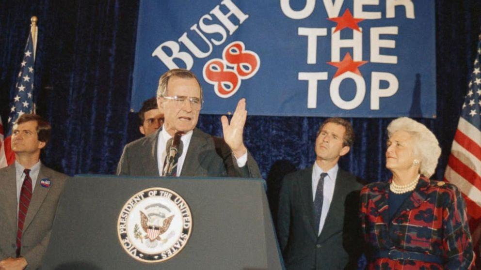 President Trump Praises George H W Bush As A Very Fine Man