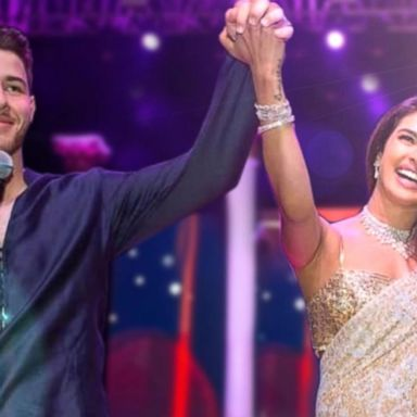 First look at Priyanka Chopra's wedding dresses   GMA