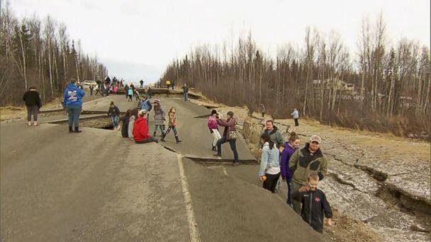 Nearly 1,400 aftershocks hit Alaska after earthquake