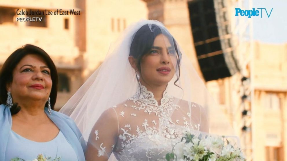 First Look At Priyanka Chopra S Wedding Dresses Video Abc News