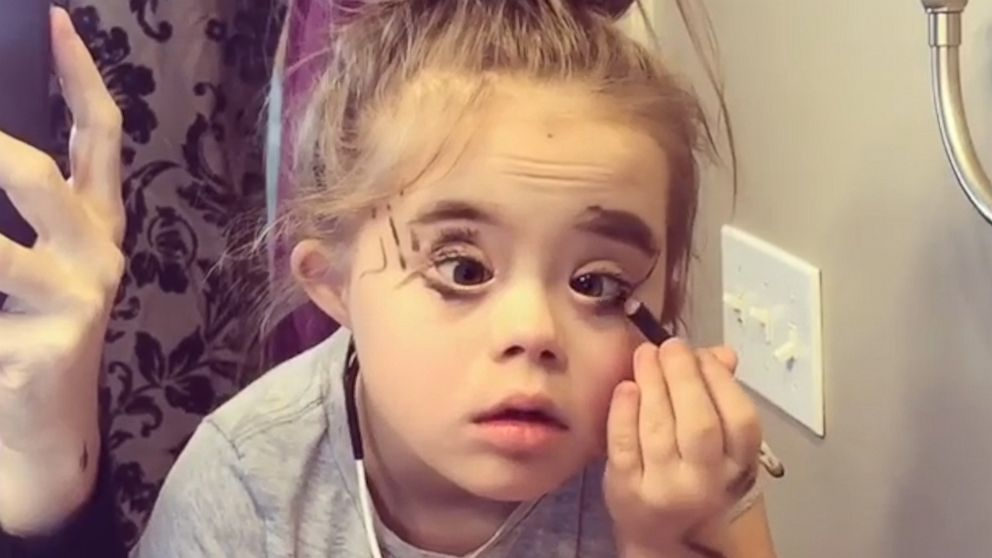 Little Girl Wears Mom S Makeup And She Is Fierce Reese