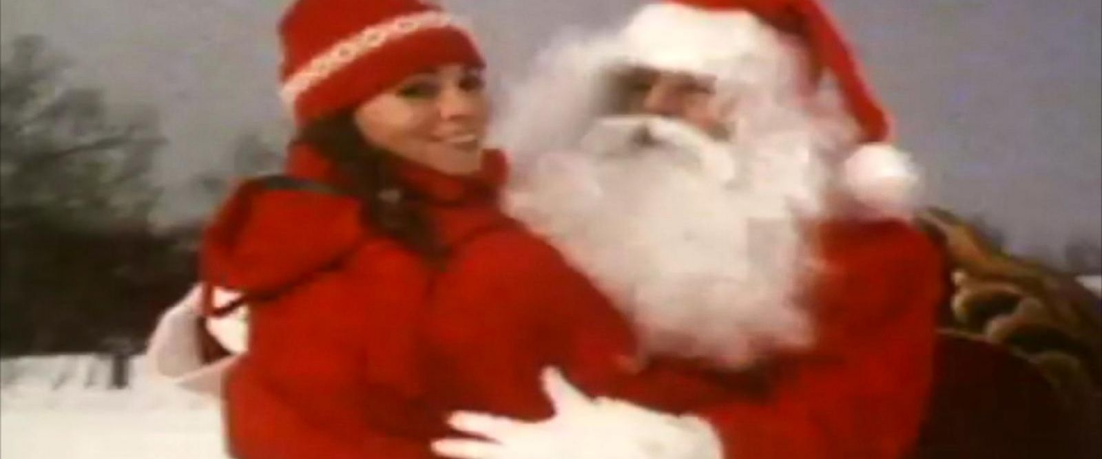 VIDEO: Mariah Carey's classic holiday song 'All I Want for Christmas is You' is back on top