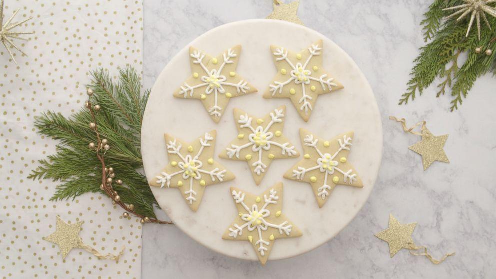 25 Days Of Cookies Melania Trump S Star Sugar Cookies Abc News