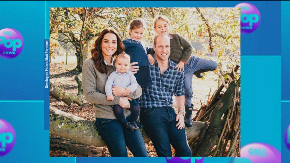 Prince William, Kate Middleton, Prince Harry and Meghan Markle share their Christmas card photos