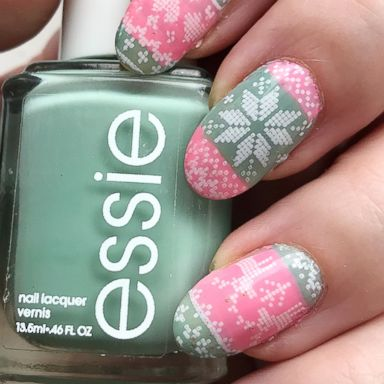 555142aa4 These ugly Christmas sweater nails are Pinterest-perfection and easy to  pull off