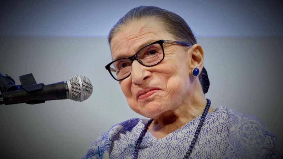 ead19a3a2 Ruth Bader Ginsburg's iconic dissent necklace for sale at Banana ...