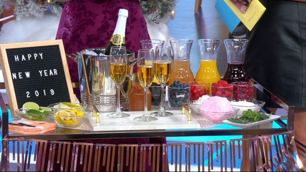 VIDEO: How to throw the ultimate New Year's Eve party