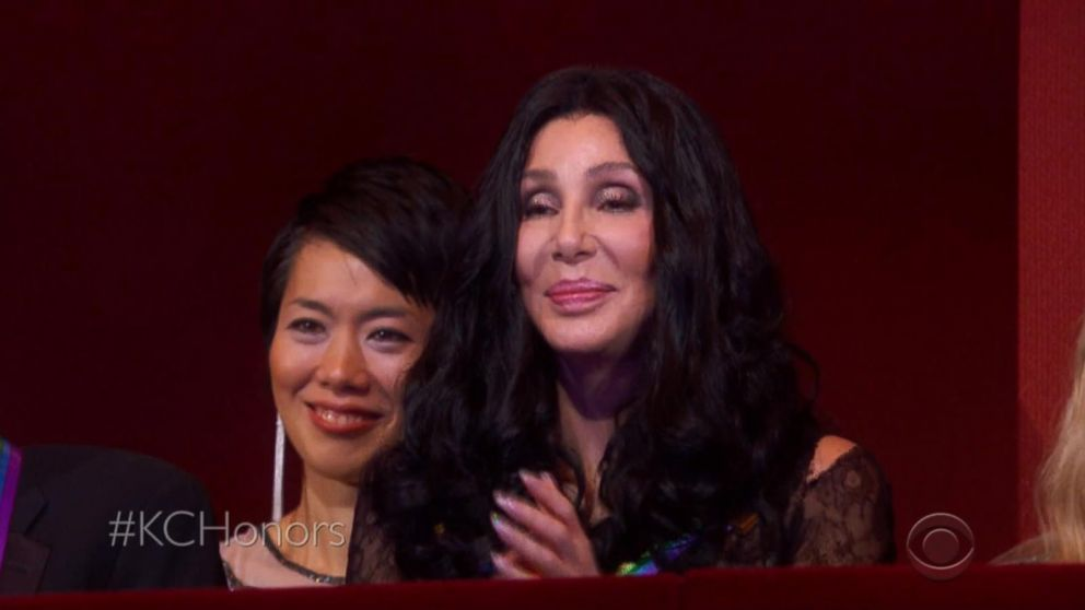 Music icon Cher overwhelmed by tributes at the Kennedy Center Honors