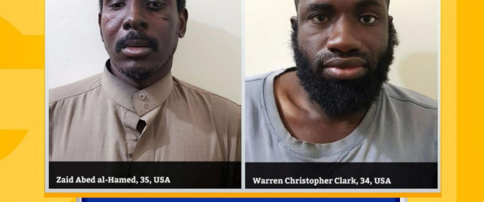VIDEO: 2 Americans allegedly fighting for ISIS captured in Syria
