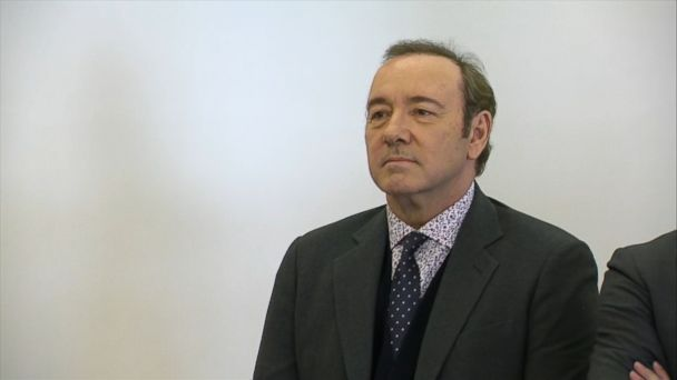 Kevin Spacey appears in Nantucket court amidst media circus