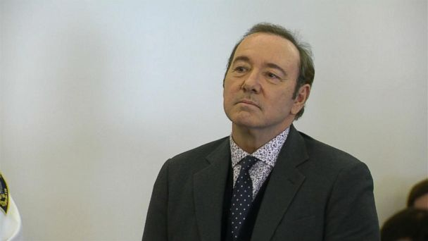 Kevin Spacey in court on felony sexual assault charge